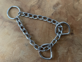 Martingale ketting zilverkleurig 20cm