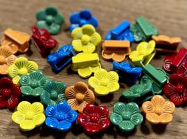 Schuifkraal 'aztec sun bar' in kleur