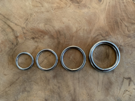 O-ring zilverkleurig