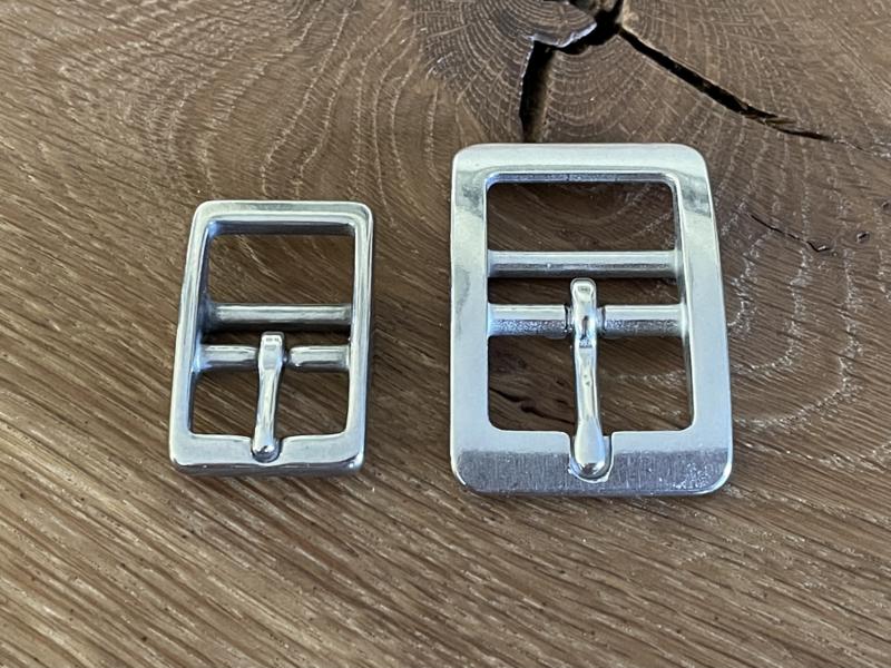 Halsband gesp RVS