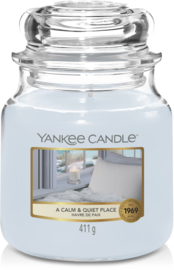 YC A calm and Quiet Place Medium Jar