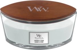 WW Lavender & Cedar Ellipse Candle