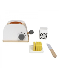 TRYCO - WOODEN TOASTER WITH ACCESSORIES