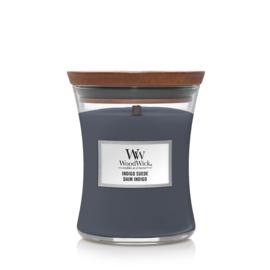 WW Indigo Suede Medium Candle