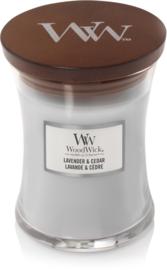 WW Lavender & Cedar Medium Candle