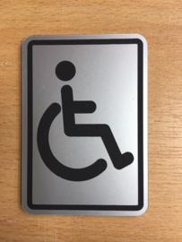 toilet mindervalide 10 x 15 cm
