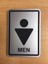 toilet man modern 10 x 15 cm