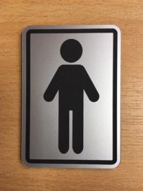 toilet man 10 x 15 cm