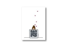 Blaasbloem || Dubbele kaart met envelop