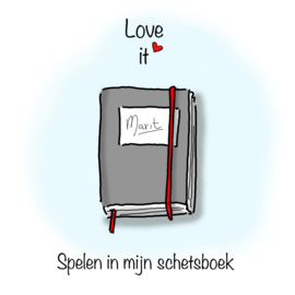 Love it, spelen in mijn schetsboek