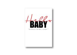 Hello baby || Ansichtkaart