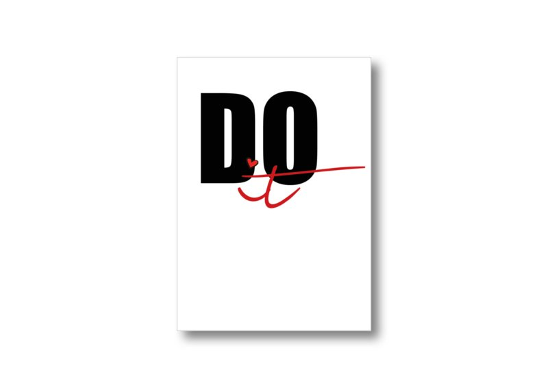 Do it || Ansichtkaart