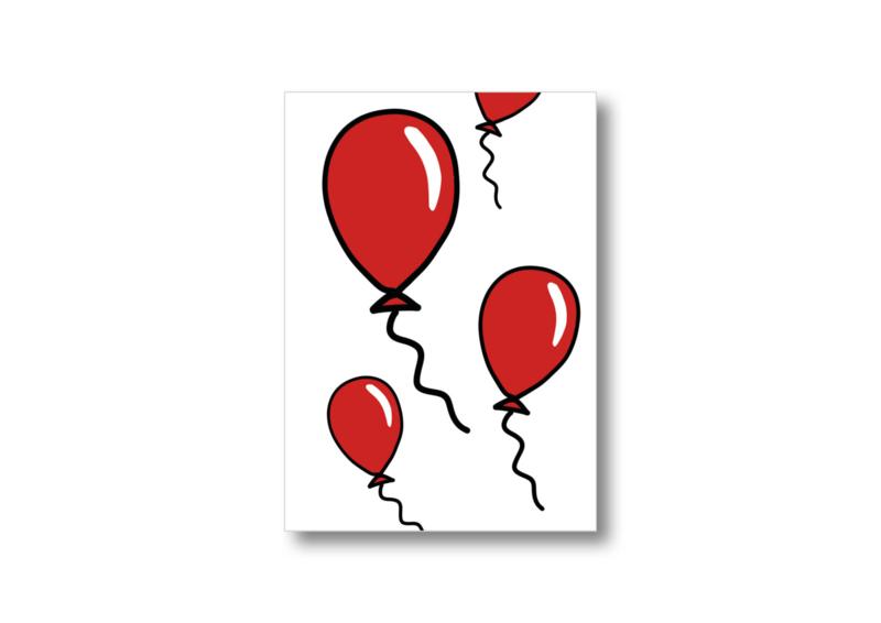 Ballonnen || Ansichtkaart