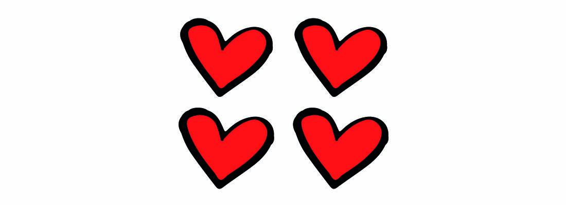 4 hartjes by marit van buchem
