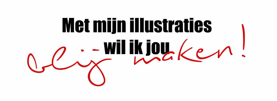 met mijn illustraties wil ik jou blij maken, by marit van buchem