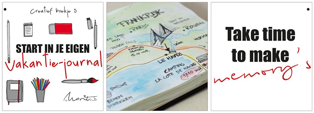 Starten in je eigen vakantie-journal by marit van buchem