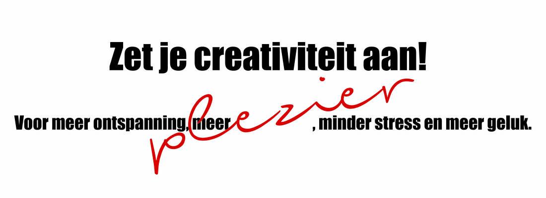 Zet je creativiteit aan, by marit van buchem