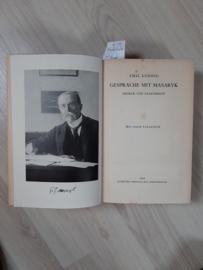 Emil Ludwig │ Gespräche mit Masaryk │ Querido Verlag │ Amsterdam │ 1935