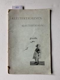 KLEUTERTJESLEVEN — KLEUTERTJESDAG | Uitgever: De Gemeenschap - Bilthoven |