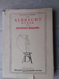 Beschryvinghe van Albrecht Dürer van de Menschelijkcke Proportion | Isbn 9063780079 | herdruk van 1622 |  1978