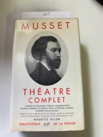 Théatre complet | A. de Musset |  uitgeverij de la Pléiade | 1958 |