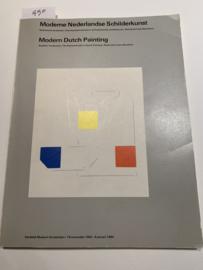 Moderne Nederlandse schilderkunst; Stedelijk Museum Amsterdam, 18.11.1983- 9.1.1984 | Wim Beeren en vel anderen | Uitgegev.:Nationale Pinakotheek en Alexander Souzos Museum e.a. |