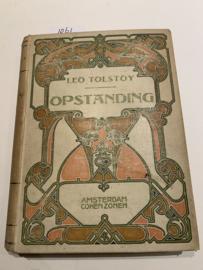 Opstanding   Roman. Naar den volledigen Engelschen tekst bewerkt door J. Westendorp   1903   1e Druk    Cohen Zonen Amsterdam  