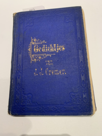 Gedichtjes van J.J. Cremer, in Betuws dialect   J.J. Cremer   1881   Uitgevr. Arnhem - Nijmegen, Gebrs. E. G. & M. Cohen  