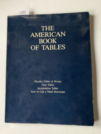 The American book of Tables | Neil F. Michelsen | Engelstalig | Uitgever: Acs Publications | ISBN 9780917086038 |