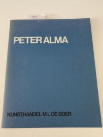 Peter Alma 1886-1969 | 1975 |  Kunsthandel M L De Boer | Drukkerij van Dongen b.v. Vlaardingen |