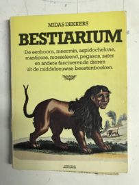 Midas Dekkers| Bestiarium| Uitgeverij Bert Bakker| 1977