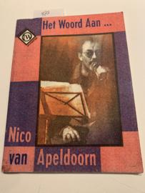 Het woord aan... (Titelpag. vermeldt tevens: Langs de scheidslijn een tekstboek) | Nico van Apeldoorn / [ill.: Erik Krabbenbosch] | 1993 | TW/ Den Haag |