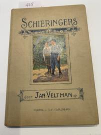 Schieringers   Jan Veltman   1923   Kinderboek Fictie   Uitg. G.F. Callenbach, Nijkerk   Geïllustreerd door O. Geerling  
