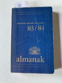 Provinciale Almanak voor Zeeland 83/84 | I.O.V. het provinciaal bestuur samengesteld door het bureau voorlichting de provincie | 58e - 59e jaargang | Uitgever: Den Boer Middelburg |