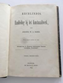 Handleiding bij het kunstnaaldwerk - Rechlindis - Johanna W.A. Naber - 1893
