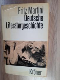 Deutsche  Literaturgeschichte │ Fritz Martini │ Alfred Kröner Verlag Stuttgart │ 1972 │