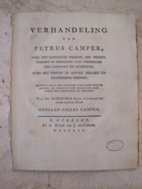 Petrus Camper - Verhandeling over het natuurlijk verschil der wezenstrekken in mensen van onderscheiden landaart en ouderdom