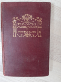 Thomas Hardy │ Tess of the D'Urbervilles │ Uitgeverij : Macmillan and Co │ London │ 1925