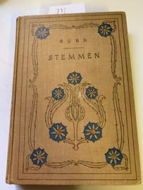 Stemmen   Runa - Lukkien, A.   1910   Uit het Zweeds vertaald   Derde druk   's-Gravenhage   D. A. Daamen  