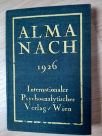 Almanach für das Jahr 1926 │ Internationaler Psychoanalytischer Verlag │ Wien │