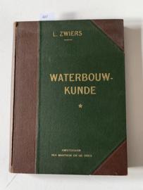 Waterbouwkunde | L. Zwiers | 1908 | 1: Beschoeiingen, bekleedingsmuren en vaste bruggen voor gewoon verkeer | bewerkt door A.N. Wind | Uitgever; Amsterdam Van Mantgem & De Does |