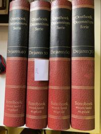 Oosthoek Decennium Serie | De jaren '40 | '50 | '60 | '70 | Sonoboek | Woord, Beeld en Geluid | Rene Fransen J. Meerman |