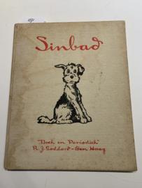 Sinbad | Momenten uit het leven van een hond | Geteekend door Edwina | Jaren '30 | Uitgever: R,J. Goddard Den Haag boek en periodiek |