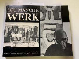 "Werk | Lou Manche | Galerie ""De Drie Poortjes"" | 1975 |"