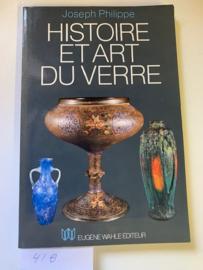 Histoire et art du verre | Joseph Philippe | 9782870110195