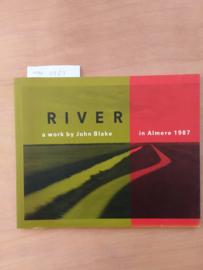 River | John Blake | in Almere 1987 | foto's | tekst | soft cover | 55 pagina's