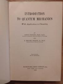 Introduction to quantum mechanics | Linus Pauling and Bright Wilson | 1935