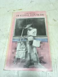 De kleine republiek    L. van Deyssel   deel 1   herdruk editie 1889