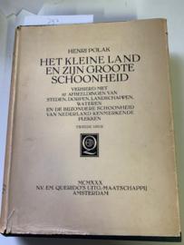 Het kleine land en zijn Groote Schoonheid   Henri Polak   1948    N.V. EM. Querido's Uitgevers-mij. te Amsterdam  