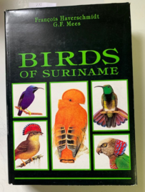 Birds of Suriname | Francois Haverschmidt | G.F. Mees |  1994